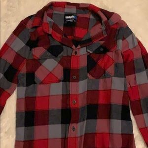Tony Hawk Boys Flannel shirt size Large